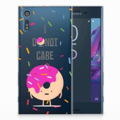 Sony Xperia XZs | XZ Siliconen Case Donut Roze