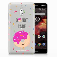 Nokia 2.1 (2018) Siliconen Case Donut Roze