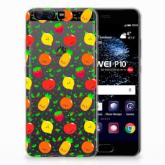 Huawei P10 Siliconen Case Fruits