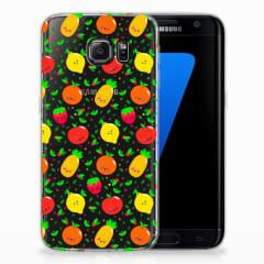 Samsung Galaxy S7 Edge Siliconen Case Fruits