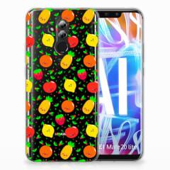 Huawei Mate 20 Lite Siliconen Case Fruits