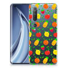 Xiaomi Mi 10 Pro Siliconen Case Fruits