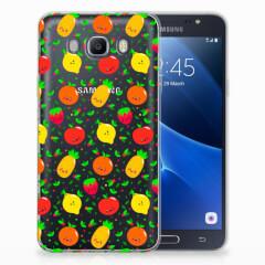 Samsung Galaxy J7 2016 Siliconen Case Fruits