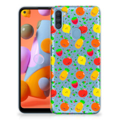 Samsung Galaxy A11 | M11 Siliconen Case Fruits