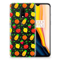 OnePlus 7 Siliconen Case Fruits