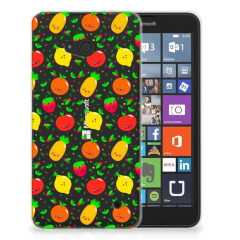 Microsoft Lumia 640 Siliconen Case Fruits