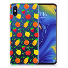 Xiaomi Mi Mix 3 Siliconen Case Fruits