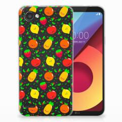 LG Q6   LG Q6 Plus Siliconen Case Fruits