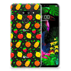 LG G8 Thinq Siliconen Case Fruits