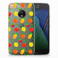 Motorola Moto G5 Plus Siliconen Case Fruits