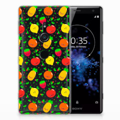 Sony Xperia XZ2 Siliconen Case Fruits
