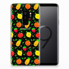 Samsung Galaxy S9 Plus Siliconen Case Fruits
