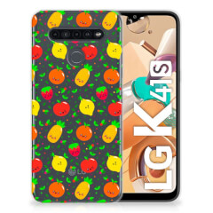 LG K41s Siliconen Case Fruits