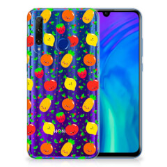 Honor 20 Lite Siliconen Case Fruits