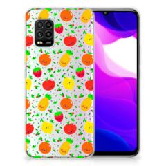 Xiaomi Mi 10 Lite Siliconen Case Fruits