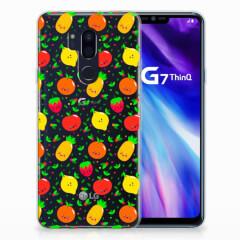 LG G7 Thinq Siliconen Case Fruits