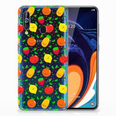 Samsung Galaxy A60 Siliconen Case Fruits