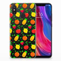 Xiaomi Mi 8 Siliconen Case Fruits