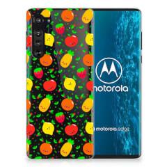Motorola Edge Siliconen Case Fruits