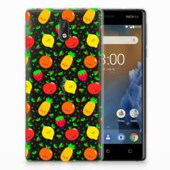 Nokia 3 Siliconen Case Fruits