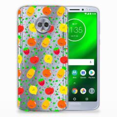 Motorola Moto G6 Plus Siliconen Case Fruits