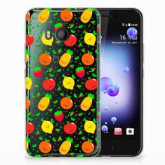 HTC U11 Siliconen Case Fruits