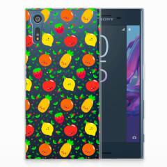 Sony Xperia XZs | XZ Siliconen Case Fruits