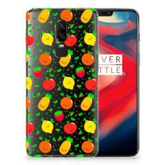 OnePlus 6 Siliconen Case Fruits