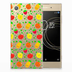 Sony Xperia XA1 Plus Siliconen Case Fruits