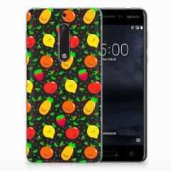 Nokia 5 Siliconen Case Fruits