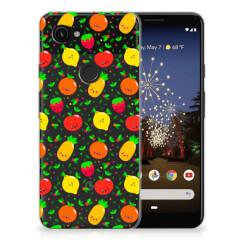 Google Pixel 3A Siliconen Case Fruits