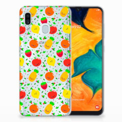 Samsung Galaxy A30 Siliconen Case Fruits