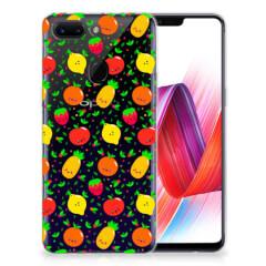 OPPO R15 Pro Siliconen Case Fruits