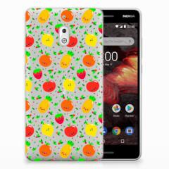 Nokia 2.1 (2018) Siliconen Case Fruits