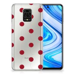 Xiaomi Redmi Note 9S | Note 9 Pro Siliconen Case Cherries