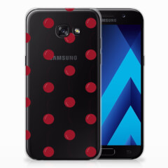Samsung Galaxy A5 2017 Siliconen Case Cherries