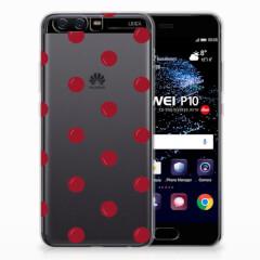 Huawei P10 Siliconen Case Cherries