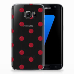 Samsung Galaxy S7 Edge Siliconen Case Cherries