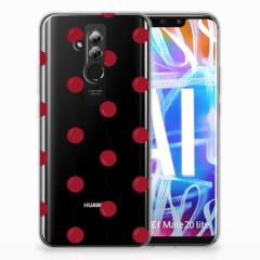 Huawei Mate 20 Lite Siliconen Case Cherries