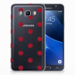 Samsung Galaxy J7 2016 Siliconen Case Cherries