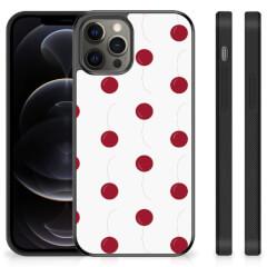 iPhone 12 Pro Max Silicone Case Cherries