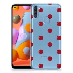 Samsung Galaxy A11 | M11 Siliconen Case Cherries