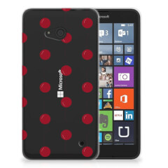 Microsoft Lumia 640 Siliconen Case Cherries