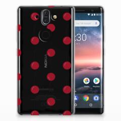 Nokia 9 | 8 Sirocco Siliconen Case Cherries