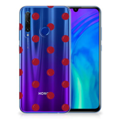 Honor 20 Lite Siliconen Case Cherries