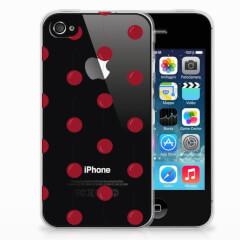 Apple iPhone 4 | 4s Siliconen Case Cherries