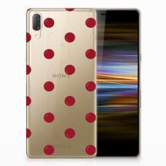 Sony Xperia L3 Siliconen Case Cherries