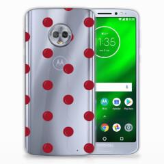 Motorola Moto G6 Plus Siliconen Case Cherries