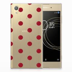 Sony Xperia XA1 Plus Siliconen Case Cherries