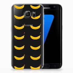 Samsung Galaxy S7 Edge Siliconen Case Banana